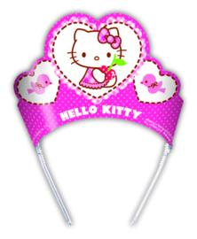 Hello Kitty Hearts tiara's 6 st.