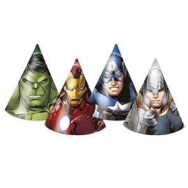 Avengers Assemble feesthoedjes 6 st.