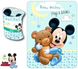 Disney Baby Mickey fleecedeken 75 x 100 cm.