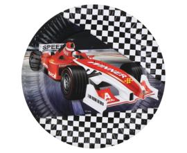 Formula Race bordjes ø 23 cm. 6 st.