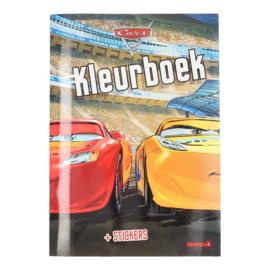 Disney Cars kleurboek met stickers
