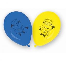 Lovely Minions ballonnen 8 st.