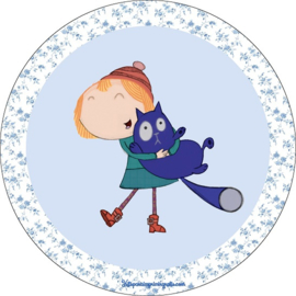 Peg and Cat taart en cupcake decoratie