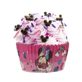 Disney Minnie Mouse cupcake vormpjes 25 st.