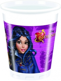 Disney Descendants bekertjes 20 cl. 8 st.