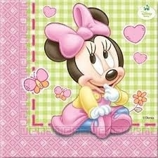Disney Baby Minnie Mouse servetten 20 st.