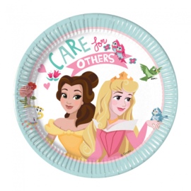 Disney Princess Dare to Dream gebakbordjes ø 19,5 cm. 8 st.