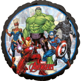 Marvel Avengers Power folieballon ø 43 cm.