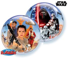 Star Wars The Force Awakens bubble ballon ø 55 cm.