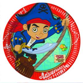 Disney Jake en de Nooitgedachtland piraten taart en cupcake decoratie