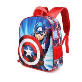 Avengers 3D rugzak Captain America 31 x 27 x 11 cm.