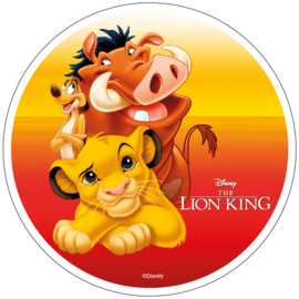 Disney The Lion King ouwel taart decoratie ø 21 cm. A