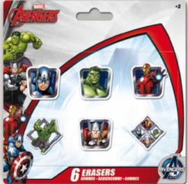 Avengers uitdeel gummen 6 st.