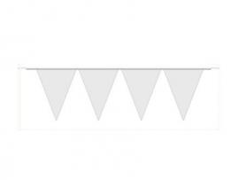 Vlaggenlijn wit 10 mtr.