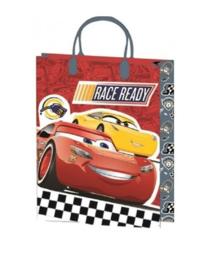 Disney Cars luxe cadeau tasje Race Ready 25 x 18,5 x 8 cm.