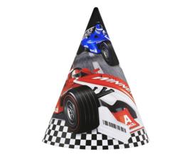 Formula Race feesthoedjes 6 st.