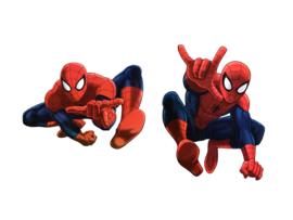 Spiderman hangdecoratie 30 cm. 2 st.