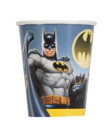 Batman bekertjes 270 ml. 8 st.