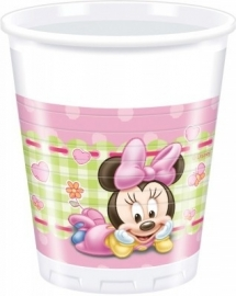 Disney Baby Minnie Mouse bekertjes 8 st.