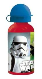Star Wars drinkfles aluminium 400 ml.