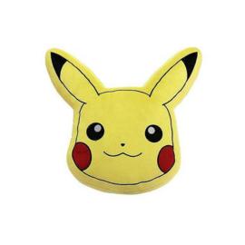 Pokémon mini pluche sierkussen Pikachu 20 x 20 cm.