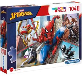 Spiderman puzzel 104 stukjes maxi