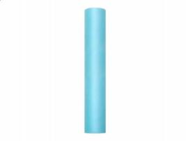 Tule turquoise L 9 mtr. x B 30 cm.