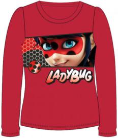 Ladybug Miraculous longsleeve rood mt. 116