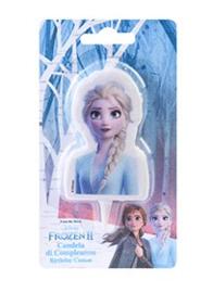 Disney Frozen 2 Elsa taart kaars 7,5 cm.