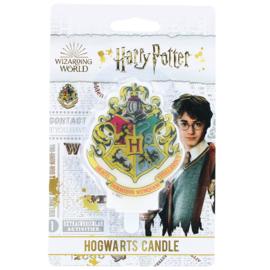 Harry Potter taart kaars Hogwarts 8 cm.