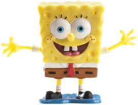 Sponge Bob taart topper decoratie 7,5 cm.