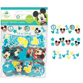 Disney Mickey Mouse 1e verjaardag confetti 34 gr.