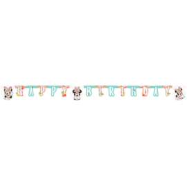 Disney Minnie Mouse tropical happy birthday slinger 2 mtr.