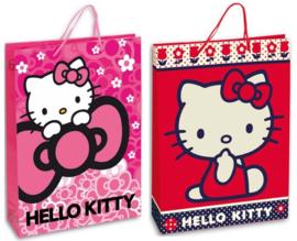 Hello Kitty luxe cadeau tasje 18 x 13 x 8 cm.