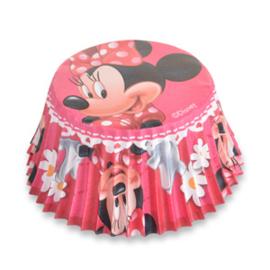 Disney Minnie Mouse cupcake vormpjes 50 st.