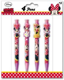 Disney Minnie Mouse uitdeel pennen 4 st.