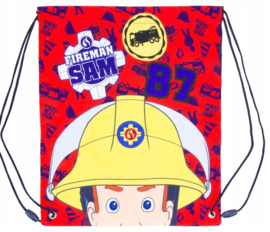 Brandweerman Sam gym- zwemtas Fireman Sam 87 35 x 30 cm.