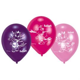 Safiras ballonnen ø 22,8 cm. 6 st.