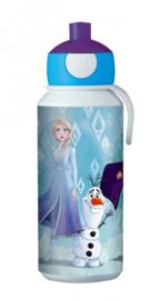 Disney Frozen 2 Mepal pop-up drinkfles 400 ml.