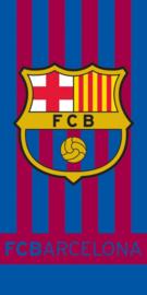 FC Barcelona bad handdoek 70 x 140 cm.