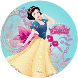 Disney Princess Sneeuwwitje ouwel taart decoratie ø 21 cm.