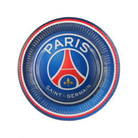 Paris Saint-Germain bordjes ø 23 cm. 6 st.