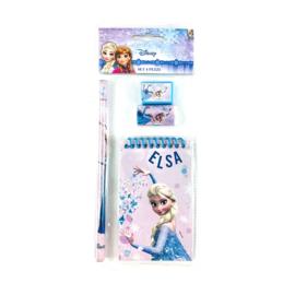 Disney Frozen schoolset Elsa 4-delig