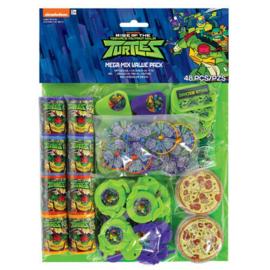 Ninja Turtles uitdeelspeelgoedset 48-delig