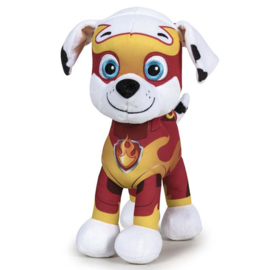 Paw Patrol Marshall Mighty Pups knuffel 19 cm.