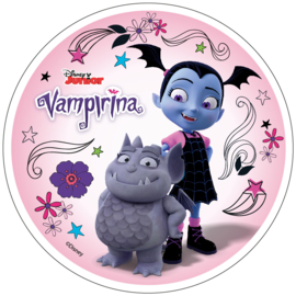 Disney Vampirina ouwel taart decoratie ø 21 cm. C