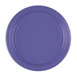 New Purple wegwerp bordjes ø 22,9 cm. 8 st.