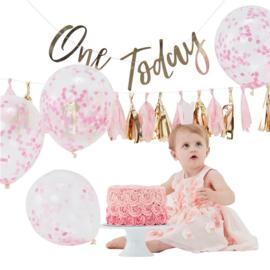 Cake Smash Kit 1e verjaardag meisje