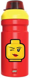 Lego drinkfles Iconic Girl 390 ml.