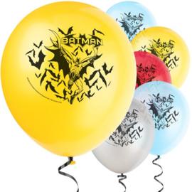 Batman ballonnen ø 30,4 cm. 8 st.